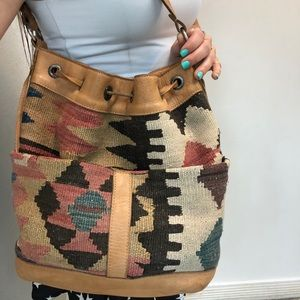 Tylie Malibu Boho Bucket Bag
